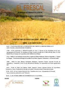III Jornadas de Cereales de La Palma @ Museo del Puro Palmero
