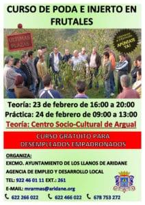 Curso de poda e injertos en frutales en Los Llanos @ Centro Socio-Cultural de Argual | Los Llanos | Canarias | España