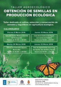Obtención de semillas en producción ecológica @ Sala de exposiciones de la Casa del Quinto | Los Sauces | Canarias | Spain