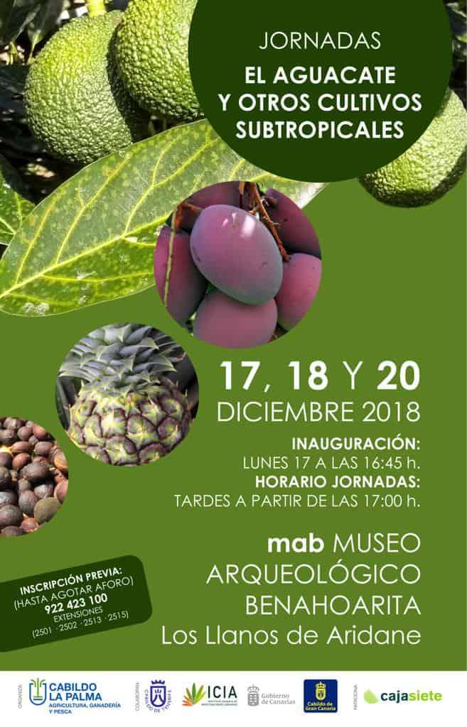 Jornadas El Aguacate y Otros Cultivos Subtropicales
