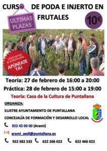 Curso de Poda e Injerto en Frutales - Puntallana @ Casa de La Cultura | Santa Cruz de la Palma | Canarias | España