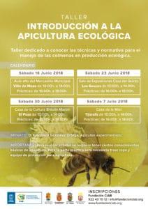 Introducción a la Apicultura Ecológica (Los Sauces) @ Sala de Exposiciones Casas Del Quinto | Los Sauces | Canarias | Spain