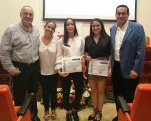 El Cabildo felicita a las alumnas del IES Virgen de Las Nieves ganadoras del 'Premio CSIC-Canarias 2017' de divulgación científica