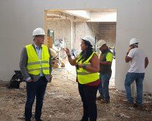 La construcción del Centro de Promoción Agraria de Garafía entra en su recta final