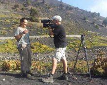 """""""Escapadas hermosas"""" de la cadena France 5 vuelve a La Palma para grabar la gastronomía ligada a los paisajes agrícolas de la isla"""