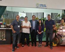 El Cabildo de La Palma promociona los productos palmeros en la Feria Agroganadera FEAGA