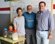 El reconocido experto Jairo Restrepo imparte un curso sobre agricultura orgánica organizado por el Cabildo de La Palma y la Fundación CIAB