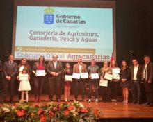 El Cabildo felicita a los productores palmeros galardonados en el concurso Agrocanarias 2017