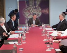 Fernando Clavijo analiza con el sector el convenio de pesca con Marruecos que concluye en julio de este año