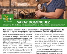 Saray Domínguez Quesos El Topito | Gente Rural