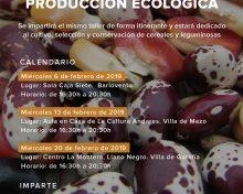 La Fundación CIAB organiza un ciclo formativo sobre la obtención de semillas en la producción ecológica