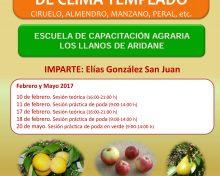 Curso de Poda de Frutales Templados | 10 de Febrero al 20 de Mayo 2017