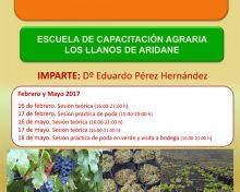 Curso Cultivo de La Viña | Del 16 de Febrero al 18 de Mayo