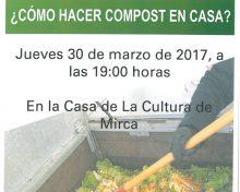 Santa Cruz de La Palma organiza una charla sobre el uso del compost doméstico aplicado a la agricultura y a la jardinería