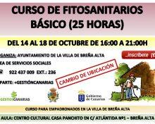 Curso de Fitosanitarios Básico (25 horas)