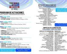 Empresas de alimentación participantes en la Feria Insular de Artesanía (Puntagorda)