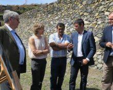 Las obras de la red de riego del sudeste de La Palma beneficiarán a 2.500 agricultores y supondrán una inversión de 7,7 millones de euros