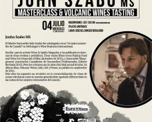 El gurú mundial de los vinos volcánicos John Szabo, estará Canarias de la mano del proyecto europeo Eurovitisos y Canary Wine
