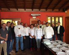 Cena de AGAP con instituciones y prensa en el Rincón de Moraga