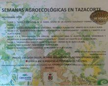 Semanas Agroecológicas en Tazacorte | Noviembre 2016