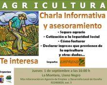 Charla informativa y asesoramiento para seguros agrarios