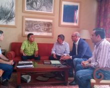 ASPA y Cabildo se reunen para abordar medidas que eviten el progresivo abandono para prevenir incendios