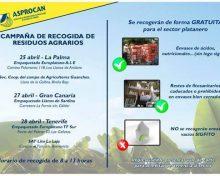 Campaña de Recogida de Residuos Agrarios | 25 de abril