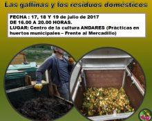 El Ayuntamiento de Villa de Mazo organiza un curso sobre compostaje comunitario dentro del Plan de Formación Agroecológica Local