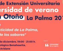 Cabildo y ULL abordan la revalorización de la gastronomía palmera en un curso de extensión universitaria