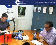Jose Basilio Perez en Cope La Palma