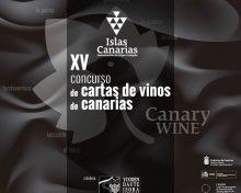 """XV Concurso Regional de """"Cartas de Vinos de Canarias"""" para Hostelería, Restauración y Tiendas Especializadas"""