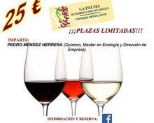 Curso de Cata de Vinos de La Palma | 8, 9 y 10 de noviembre de 2016