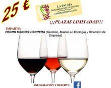 Curso de cata de Vinos de La Palma | 8 a 10 de Noviembre 2016