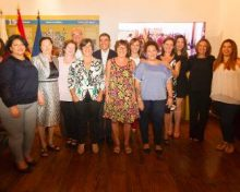 El Gobierno de Canarias entrega a la viticultora y bodeguera Eufrosina Pérez, el Premio a la Mujer Rural Canaria 2017