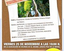 Charla informativa sector del plátano en Canarias