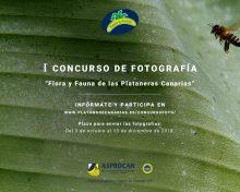 I Concurso de fotografía «Flora y Fauna de las Plataneras de Canarias».