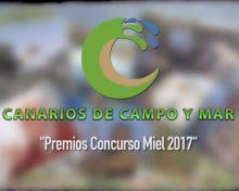 Premios Concurso Miel 2017 | Canarios de Campo y Mar