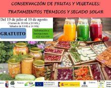 Curso de Conservación de Frutas y Vegetales
