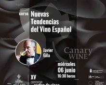 """Javier Gila impartirá el Curso de Cata """"Nuevas tendencias del Vino Español"""""""