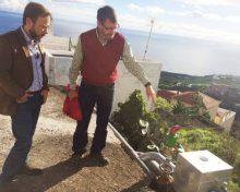 El Gobierno de Canarias invierte 1,56 millones de euros en obras de regadío en San Andrés y Sauces