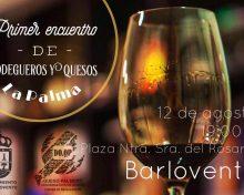 Tapas de vino y Queso Palmero en Barlovento