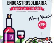 Fiesta Enogastrosolidaria | Breña Alta | 3 de Junio