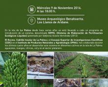 Estudio de la sostenibilidad del cultivo de plátanos en la isla de La Palma, tratados con purines enriquecidos y compost