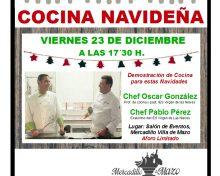 Mercadillo de Villa de Mazo: Cocina Navideña | 23 de Diciembre.