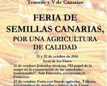 Feria de Semillas Canarias | 21 y 22 de octubre de 2016