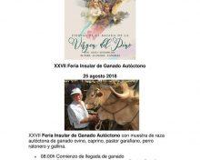 XXVII Feria Insular de Ganado Autóctono
