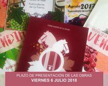 Concurso para elegir el cartel anunciador de la Fiesta de la Vendimia 2018