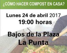 ¿Cómo hacer compost en casa? | 24 de abril en La Punta