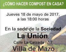Charlas sobre compostaje doméstico Sociedad La Unión | 18 de mayo