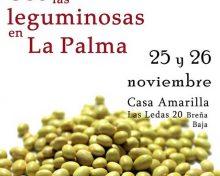 Uso de las leguminosas en La Palma | 25 y 26 de noviembre de 2016